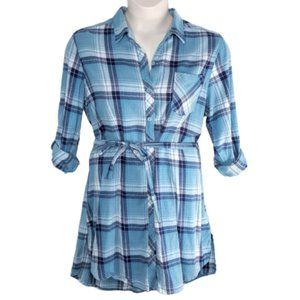 North River Outfitters Plaid Shirt Dress/Tunic